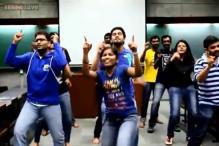 There's no way of saying this kindly. IIM-A students perform a terrible flash mob to celebrate on campus film '2 States'