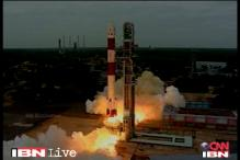 Indian rocket carrying navigation satellite blasts off