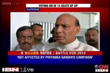 Watch: Rajnath, Javed Jaffrey speak on Lucknow polls