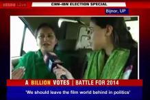 Watch: RLD candidate Jaya Prada sings 'de de pyaar de, vote de'