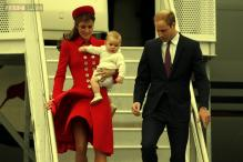 Snapshot: Prince George joins William-Kate for their tour of Australia and New Zealand