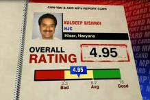 Kuldeep Bishnoi scores below average on MPs performance card
