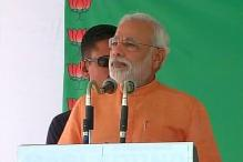 LS polls: Narendra Modi receives grand welcome at Ratkudia