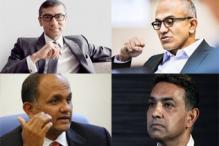 Indian-origin CEOs at global tech companies: Rajeev Suri, Satya Nadella...