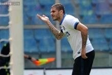 Inter Milan beat 10-man Sampdoria 4-0 in Serie A