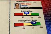 Meira Kumar fares well on MPs performance card