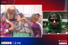 J&K: Mehbooba Mufti blames Omar government for sarpanch killings