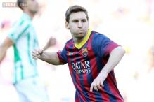 Lionel Messi strikes twice as Barcelona beat Real Betis 3-1