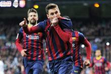 Lionel Messi helps Barcelona end skid, beat Bilbao 2-1