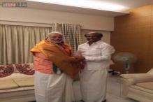Snapshot: Narendra Modi meets superstar Rajinikanth in Chennai