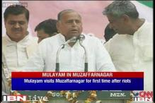 Mulayam campaigns in riot-hit Muzaffarnagar, hints at his PM ambition