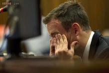Oscar Pistorius breaks down while recalling shooting