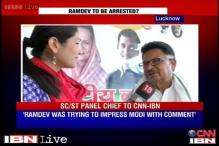 Congress demands action against Ramdev for his honeymoon remark against Rahul