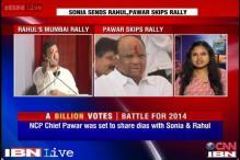 Mumbai: Sharad Pawar skips Rahul Gandhi's rally, Congress embarrassed