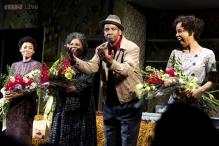 President Obama goes to see Denzel Washington in 'A Raisin in the Sun'