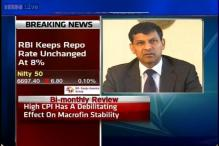 RBI keeps Repo Rate unchanged at 8 pc, CRR at 4 pc