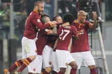 Second-place Roma beat Atalanta 3-1 in Serie A