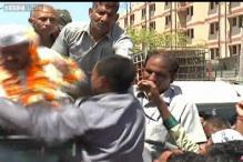 Delhi: Another attack on Arvind Kejriwal, man slaps him in Sultanpuri