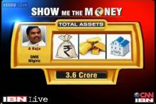 Show Me The Money: A Raja's total assets valued at Rs 3.6 crore