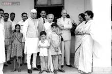 Snapshot: An old photo of Jawaharlal Nehru, Indira Gandhi with young Rajiv and Sanjay