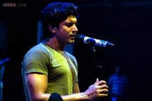 Snapshot: Farhan Akhtar tweets photos of his first ever performance in Guwahati