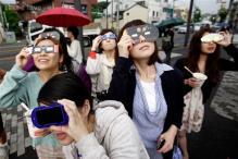 Watch live: 2014's first solar eclipse
