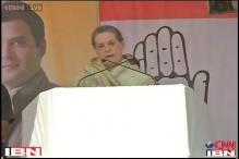 BJP's development pitch is eyeing power: Sonia Gandhi