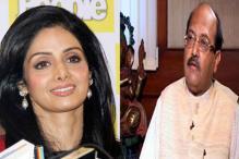Sri Devi, Bonney Kapoor campaign for RLD leader Amar Singh