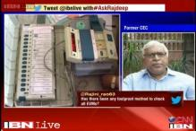 EVMs are 100 per cent tamper-free, says former CEC SY Quraishi