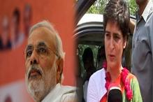 Talk of development, don't teach us the English alphabet, Priyanka Gandhi tells Modi