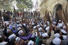 Unidentified men damage Kejriwal's car in Rohtak