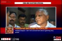 My popularity makes Congress nervous, says Yeddyurappa