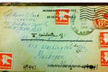 Michigan post office still trying to deliver a 1945 letter