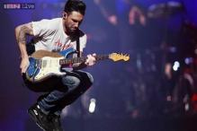 Singer Adam Levine throws bachelor party in Las Vegas