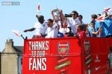 Arsenal celebrate FA Cup win with trophy parade