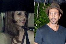 Happy and relaxed! Sussanne parties with Arjun Rampal, Dino Morea