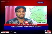BJP candidate Babul Supriyo apprehensive about rigging, violence in Asansol