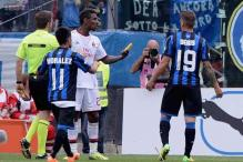 Atalanta fined 40,000 euros over banana incident