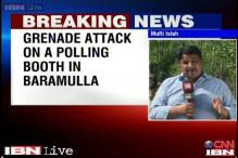 J&K: Grenade attack on a polling booth in Baramulla