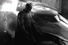 Here it is! The first photo of Ben Affleck as the new Batman