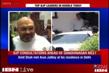 BJP leaders hold talks on portfolios ahead of vote counting