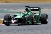 Caterham pull out of Formula one test after Kobayashi crash