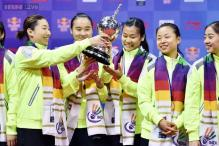 China clinch 13th Uber Cup title