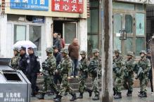 Five suicide bombers carried out Xinjiang attack: Chinese state media