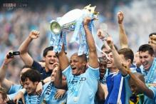 Manchester City clinch their second Premier League title in three years