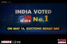 CNN-IBN India's No. 1 English news channel during election week