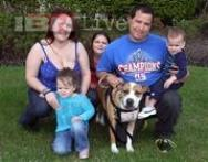 Lost and found: Family reunites with pet dog after it escaped from the backyard during hurricane Sandy