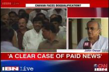 Paid news: EC official says will disqualify Chavan if he's guilty