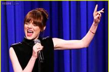 Watch: Emma Stone kills it with her amazing lip sync to 'Hook' on 'The Tonight Show Starring Jimmy Fallon'