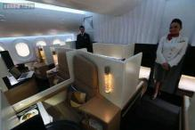 Photos: Private butlers, showers and Ferrari upholstery: Inside Etihad Airways' newly launched, lavish first-class cabin